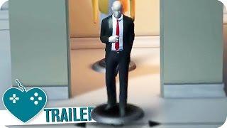 HITMAN GO: DEFINITIVE EDITION Trailer (2016) PS4, PC, PS VITA