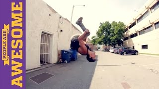 People are Awesome: Rikki Carman (Tricking & Freerunning)