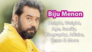 Biju Menon Height, Weight, Age, Biography, Wiki, Wife, Family