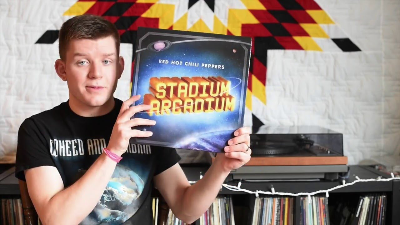 vinyl unboxing stadium arcadium by red hot chili peppers 2016 repress youtube. Black Bedroom Furniture Sets. Home Design Ideas