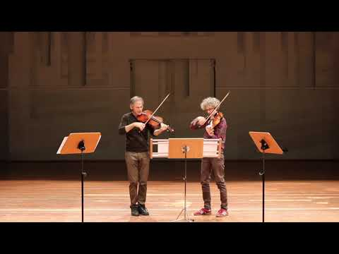 Microtonal blues for two violas: Garth Knox and Vincent Royer