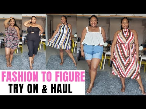 FASHION TO FIGURE Try On & Haul| Plus Size Fashion. http://bit.ly/2zwnQ1x