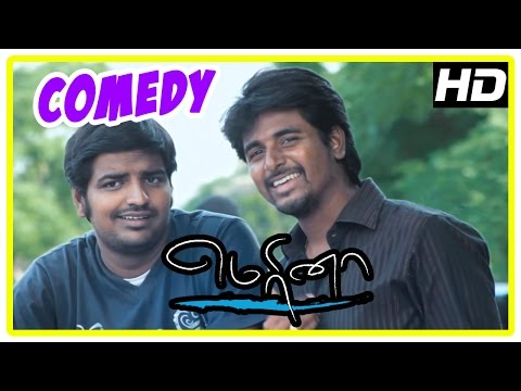 Marina Tamil Movie | Back to Back Comedy Scenes | Sivakarthikeyan | Sathish | Oviya | Pakoda Pandi