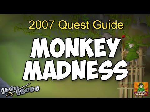 Runescape 2007 Monkey Madness Quest Guide