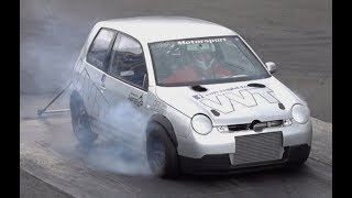 740hp R20 VW LUPO FROM VAN VUGHT TUNING