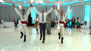 Dans popular la nunta la Sergiu si Ina