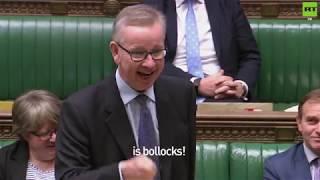 Michael Gove calls Labour's Brexit plan 'bollocks'