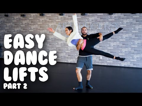 5 Easy Dance Lifts & Partnering, Part Two I Tutorial with @MissAuti