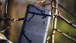 Outdoor Smartphone Cyrus CS45 XA ausgepackt