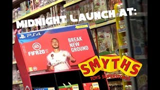 Fifa 20 Midnight Launch At Smyths Toy Store!