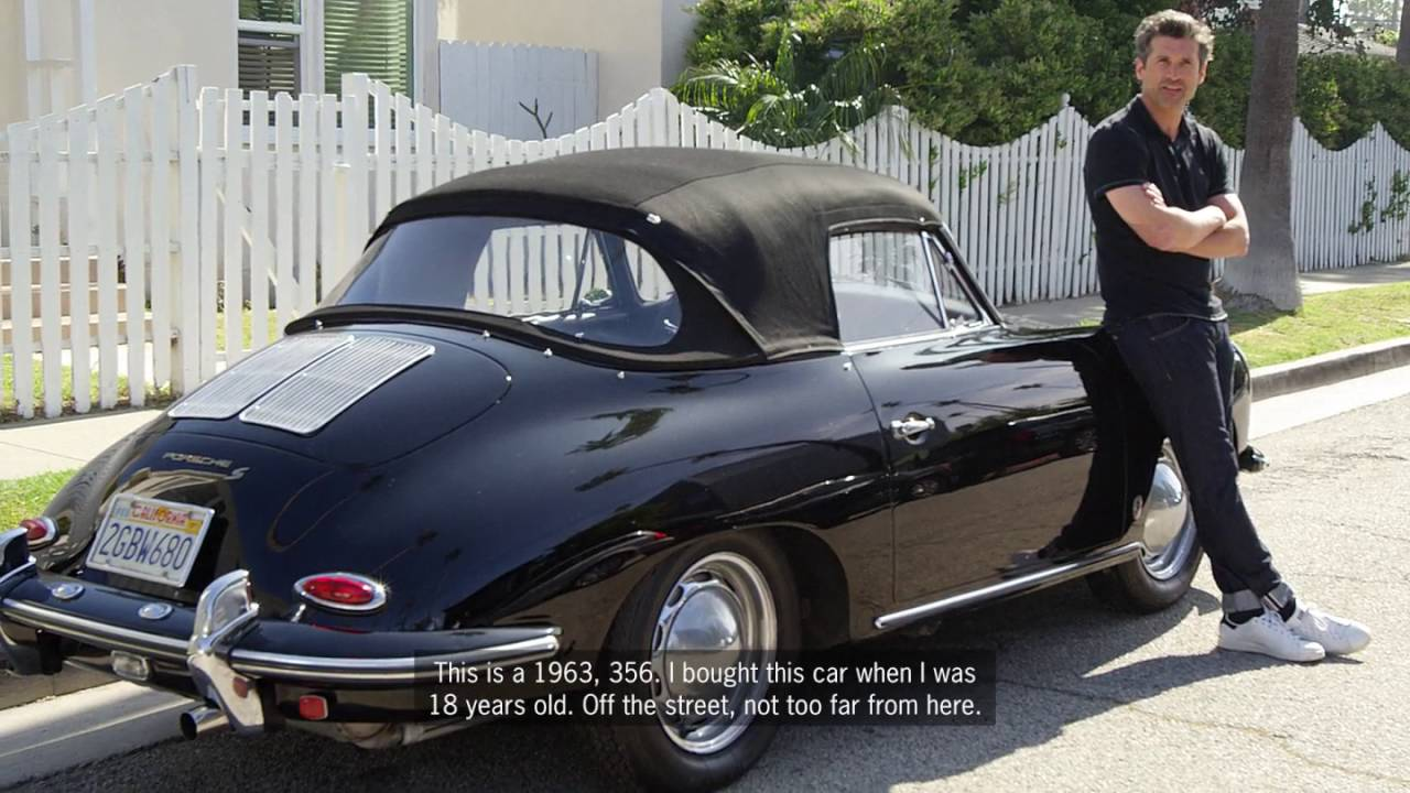Patrick Dempsey Interview For Porsche Part 3 Youtube