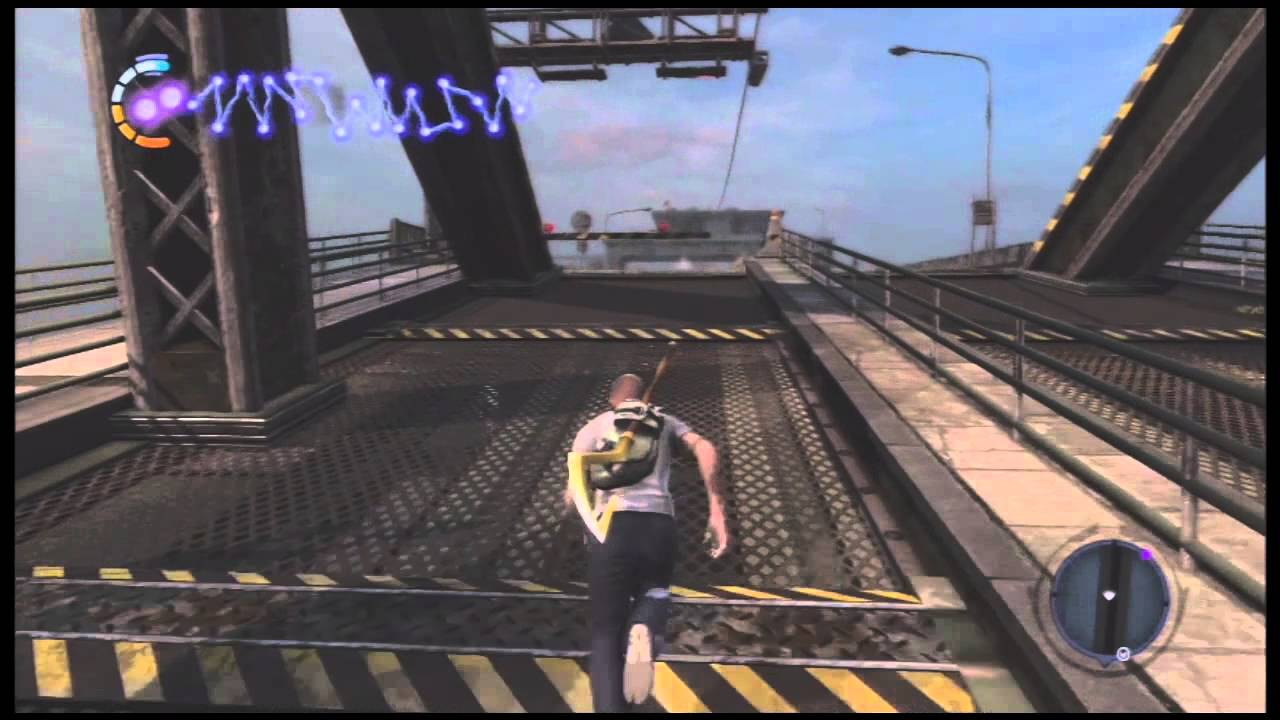 Infamous 2 Gameplay With Sly Coopers Cane Youtube