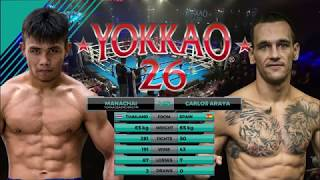 Download Video YOKKAO 26: Manachai YOKKAOSaenchaiGym vs Carlos Araya (65kg) - Hong Kong MP3 3GP MP4