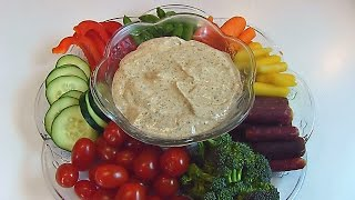 Bettys Relish Tray with Vegetable Dip  --  Easter
