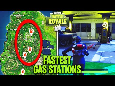 "EASIEST WAY TO ""Visit 3 different Gas Stations"" IN A SINGLE MATCH! - WEEK 5 CHALLENGES in FORTNITE!"