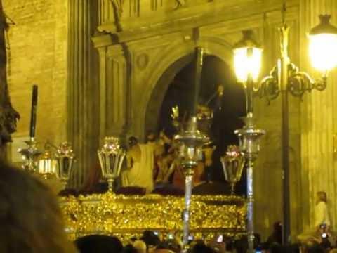 Salida del Santísimo Cristo de la Coronación de Espinas, El Valle 2013