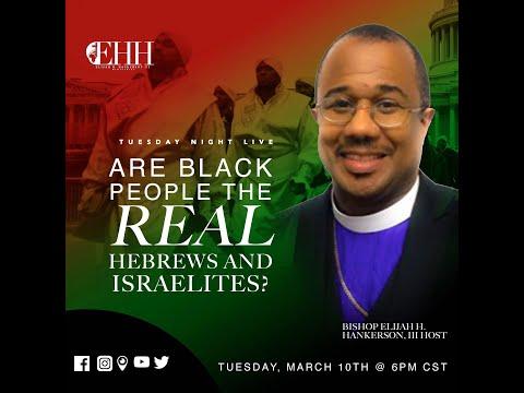 🛑ARE BLACK PEOPLE THE REAL HEBREWS \u0026 ISRAELITES?