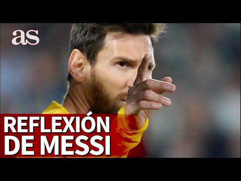 La reflexión de Leo Messi con mensaje sobre el coronavirus y la pandemia | Diario AS