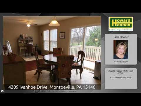 4209 Ivanhoe Drive, Monroeville, PA 15146