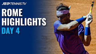 Nadal Begins Campaign vs Sinner; Medvedev, Tsitsipas & Thiem In Action | Rome 2021 Day 4 Highlights