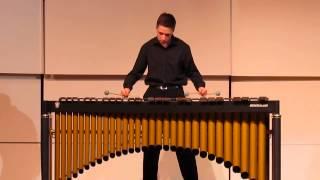 Devin FitzGerald - percussion - 2014 International Baccalaureate Recital -- Part 2
