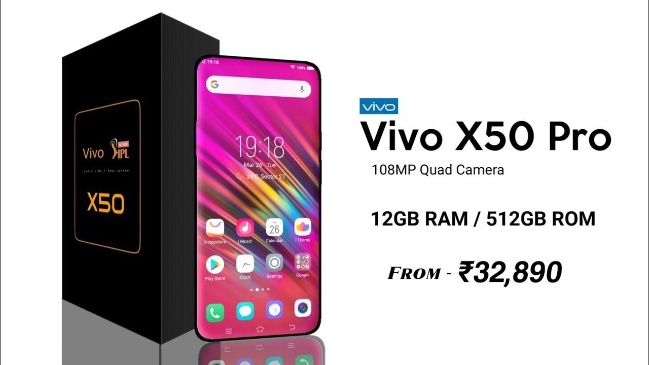 Vivo X50 Pro -First Look,5G,Snapdragon 865,108MP Camera,6000mAh ...
