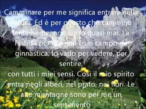 Le pi belle frasi di montagna  The most beautiful words