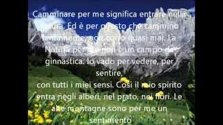 Le più belle frasi di montagna - The most beautiful words of mountain