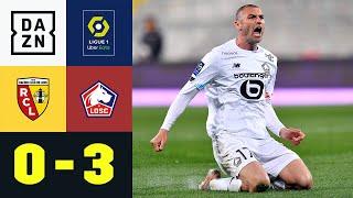 Lille auf Meisterkurs! Burak Yilmaz doppelt und wunderschön: Lens - Lille 0:3 | Ligue 1