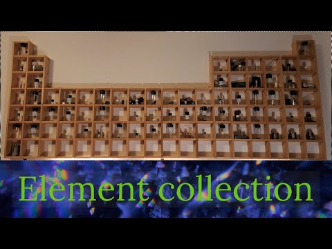 My Element Collection - 94 Elements (Periodic Table)