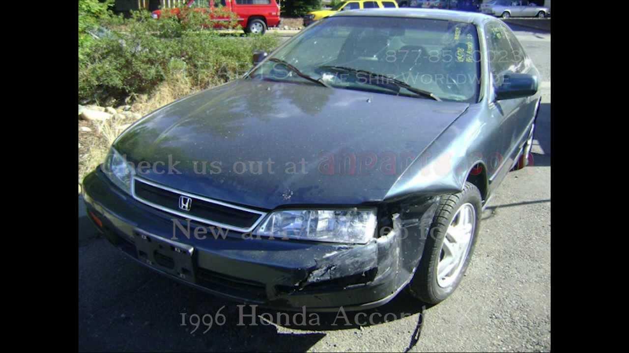 1996 Honda Accord Parts AUTO WRECKER RECYCLER Anhdonline.com Acura Used
