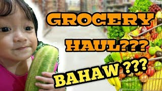 GROCERY HAUL??? BAHAW ??? | 2-YEAR-OLD SHOPS FOR  VEGETABLES!