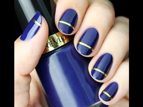 Amazing nail polish and nail design how to do nail art - Easy nail polish designs to do at home ...