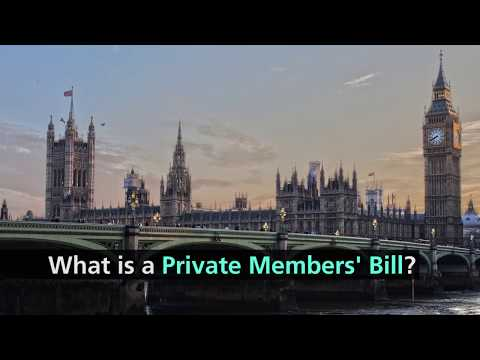 What is a Private Members' Bill?