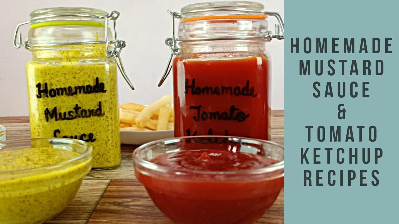 Yellow Mustard Sauce Tomato Ketchup How To Make Kasundi Mustard Sauce How To Make Tomato Ketchup Youtube