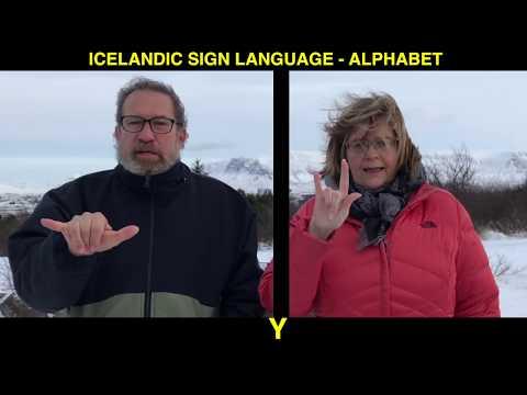 The Alphabet of Icelandic Sign Language (ABC)