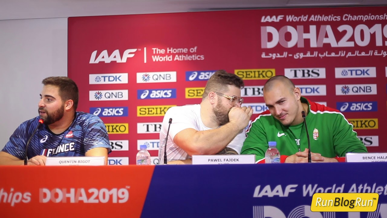 Doha WC 2019 - Men's Hammer Throw Final Press Conference