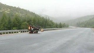 В Магаданской области заканчивается ремонт трассы