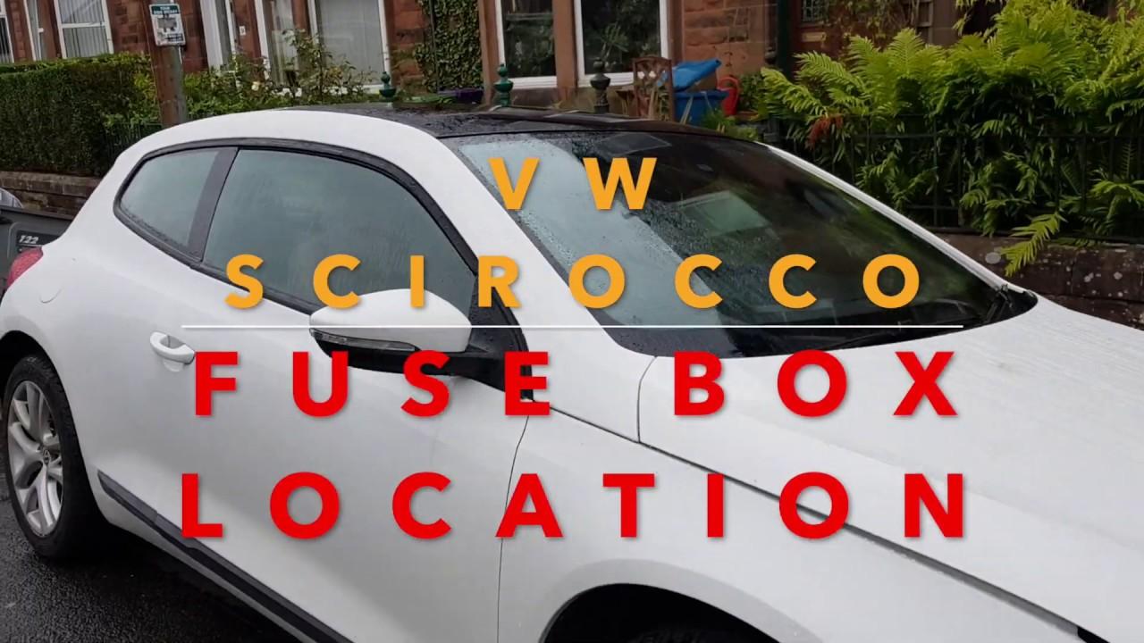 [SCHEMATICS_4HG]  VW Scirocco/Golf Fuse Box Locations - YouTube | Scirocco Fuse Panel Diagram |  | YouTube
