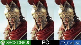 Assassin's Creed Odyssey PS4 Pro vs Xbox One X vs PC - The Next Big Visual Leap For The Franchise