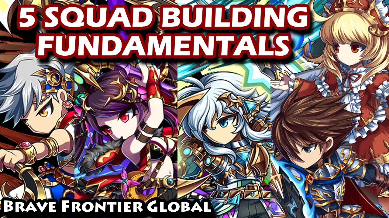 Brave Frontier Best Spheres 2019 5 Squad Building Fundamentals (Brave Frontier Global)   YouTube