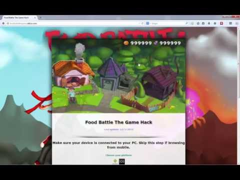 Food Battle The Game - How to and PROOF of Food Battle The Game Cheats