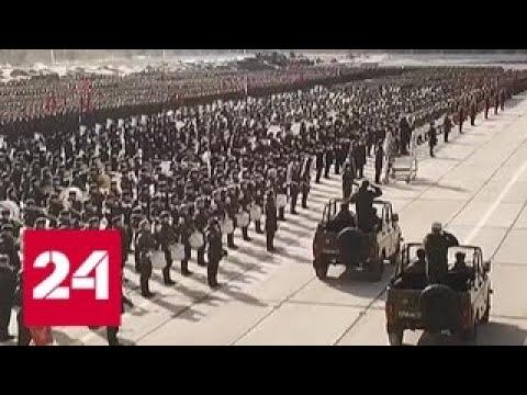 В Подмосковье идут репетиции Парада Победы - Россия 24