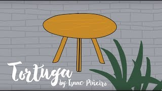 Tortuga dining table by Isaac Piñeiro