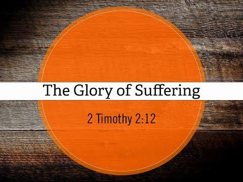 2017 Aug 13 The Glory of Suffering Mark Hanson
