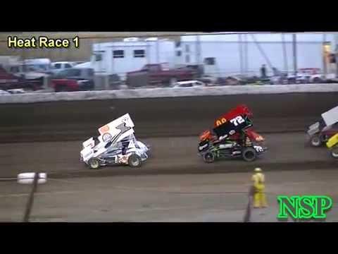 8-15-2014 Ascs Frontier Region Heat Races 1 & 2 Gallatin Speedway