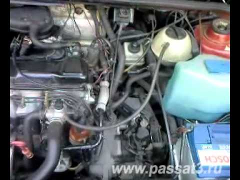 Двигатель VW Passat B3 Engine