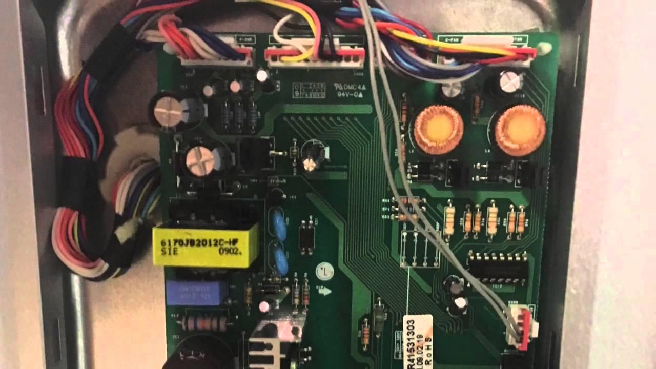 lg refrigerator blowing fuse fix