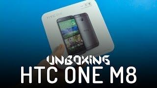 HTC One (M8) - Rozpakowanie - Unboxing PL