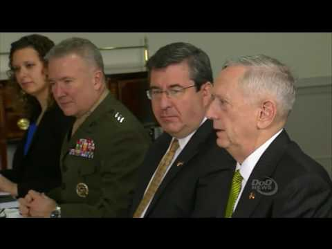 Secretary of Defense Mattis Meets with German Minister of Defense